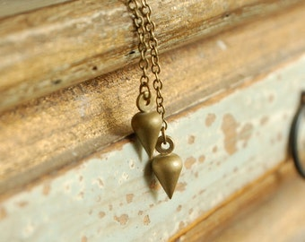 shoulder duster earrings, shoulder dusters, plumb line earrings, architecture inspired jewelry, pendulum drops, minimalist jewelry