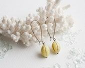 Days of Lemon Drops - dangle earrings