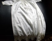 Baby's christening gown - Early 1900s