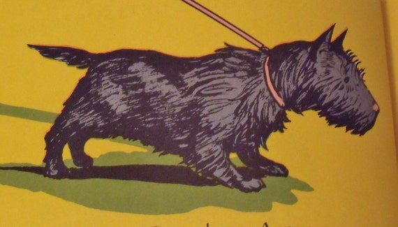 Angus and the Cat - Marjorie Flack - Early edition from the 1930s - Scottish Terrier