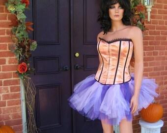 Purple Tutu  Fairy Skirt Halloween Costume