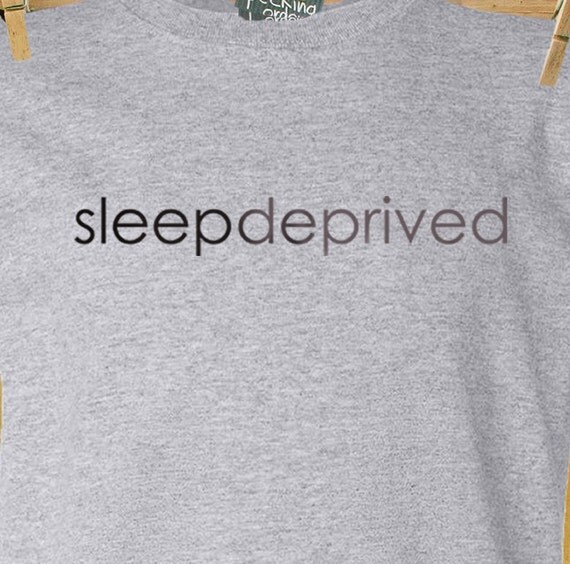 New dad shirt - sleep deprived new dad custom t-shirt - funny first Father's Day gift