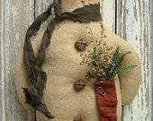 113 - Mr. Winter Snowman Ornament e-Pattern