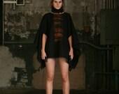Black Silk Neck Ruff , Fashion Accessories, fashion trends