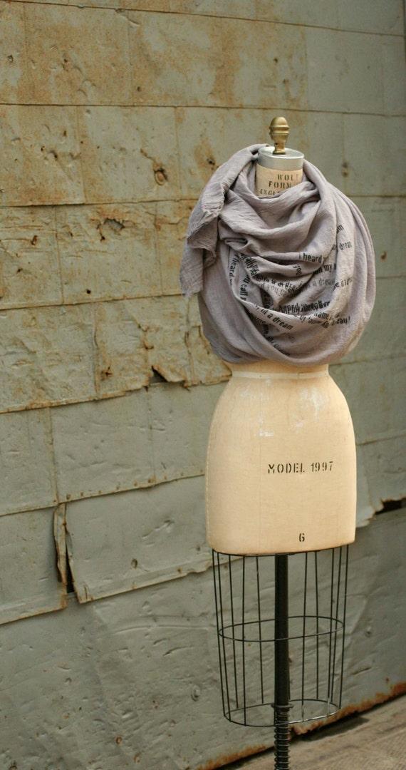 015 cotton dream scarf