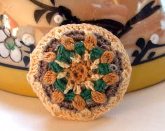 Miniature Dollhouse Throw Pillow One Inch Scale