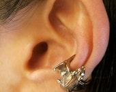 Bat Ear Cuff Bronze Ear Cuff - Bat Jewelry Bronze Bat Non Pierced Earring Non Pierced Ear Cuff - Small Ear Cuff Animal Earring Bat Earring