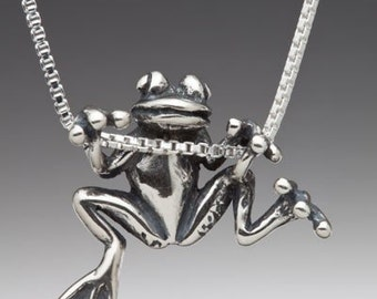 Frog necklace frog charm frog jewelry silver frog charm frog frog necklace silver animal jewelry frog charm frog pendant tree frog charm frog jewelry silver frog mozeypictures Image collections