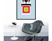 Polaroid poster print - Instant Colour - 50 x 70 cm large photography poster