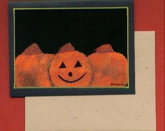 Halloween Note Card Invitation Stationery