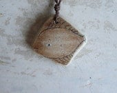 Beach Pottery Fish Necklace