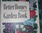 Vintage Better Homes and Gardens Garden Book Second Edition 1951 1954
