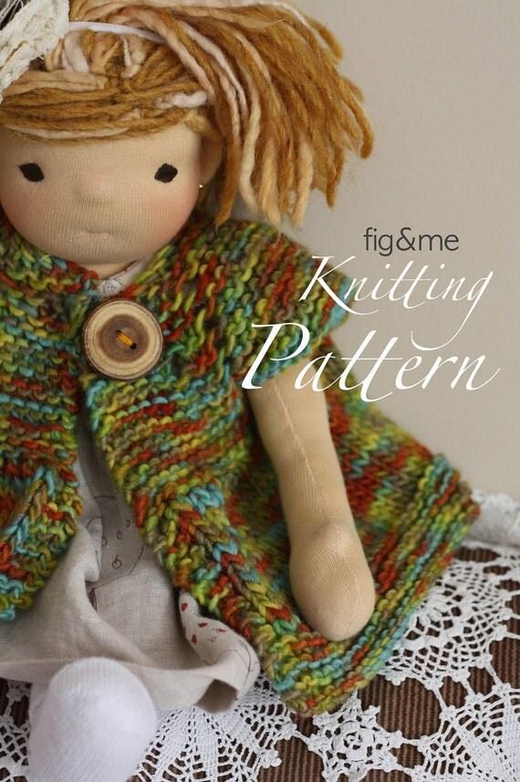 Nanette Jacket, PDF knitting pattern