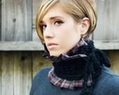 Chunky neck wrap / neck warmer / scarf / crochet scarf - KA098