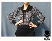SALE Sweater long sleeves women - LUIS V - combined