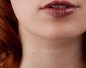 Natural Lip Gloss in Bramble Berry Purple Mineral Lipstick