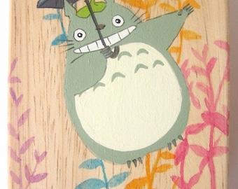 My Neighbor Totoro Hand Paint wood Box Studio Ghibli 8