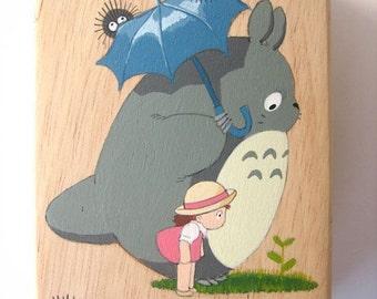 My Neighbor Totoro Hand Paint wood Box Studio Ghibli 13