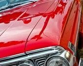 Ford Custom 500 Galaxie VCar Photography, Automotive, Auto Dealer, Muscle, Sports Car, Mechanic, Boys Room, Garage, Dealership Art