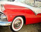 1955 Ford Crown Victoria Fine Art Print- Car Art, Antique Car, Home Decor, Nursery Decor, Wall Art, Vintage Car