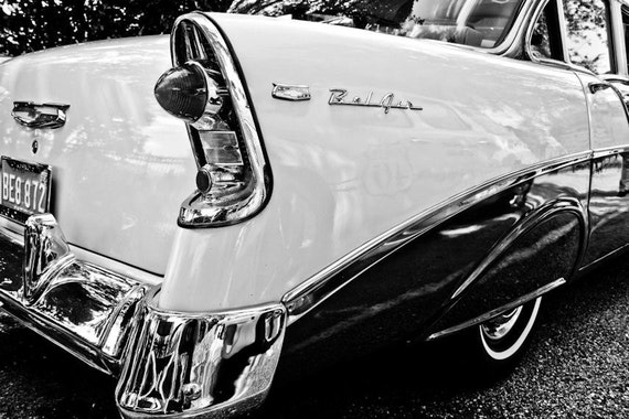 Chevrolet Bel Air Car Photography, Automotive, Auto Dealer, Muscle, Sports Car, Mechanic, Boys Room, Garage, Dealership Art