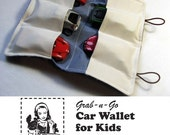 CAR TAKER Wallet for Kids TUTORIAL - Pattern Designed by Paper Daisy Design Co
