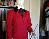 Edwardian Hunting Outfit Riding Habit Size 8 Medium/Large- Downton Abbey, Titanic, Victorian