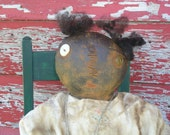 Primitive Doll Pattern Folk Art Mammy Extreme Plain and Simple OFG Team