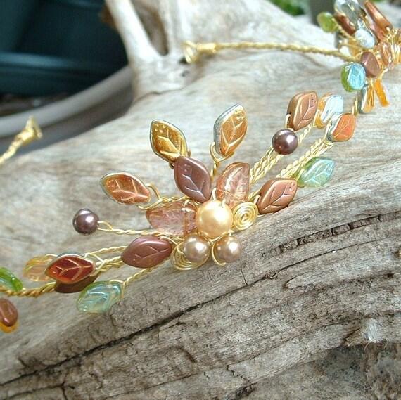 Fairytale Wedding Tiara Crown Titanias Dream