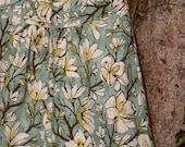 A Line Skirt, painting inspired skirt, Laura Gunn, Magnolia Branch Aqua, and pAiNtErS cAnVaS, custom, Skirt size women's 2-22
