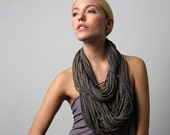 Infinity Scarf, Statement Necklace, Gift for Women, Girlfriend Gift, Festival, Mother in Law Gift, Gift for Daughter, Womens Gift, Women