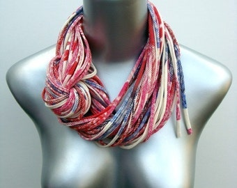 Fall Scarf, Winter Scarf, Autumn, Layered Necklace, Fashion Accessories, Womens, Winter, Gift For Sister, Mom Gift, Statement Necklace