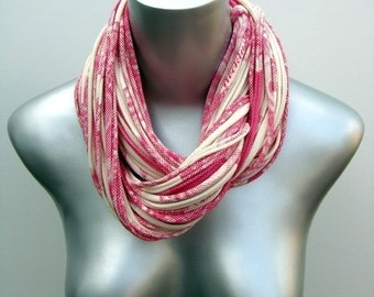 Pink Scarf, Pink Cowl, Cowl Pink, Pink Fall Scarf, Pink Winter Scarf, Girlfriend Gift, Gift For Her, Gift for Wife, Gift Ideas, Preppy