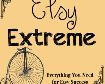 Etsy Extreme Business Planner Organizer The Whole Kit and Kaboodle for Etsy Success - No Holds Barred - ORDER NOW to Guarantee Availability