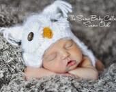 POPULAR Fuzzy Baby Owl Hat Size Newborn 3m Crochet Photo Prop boy girl Gender Neutral Halloween Costume Perfect for All Seasons