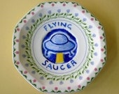 Flying Saucer No.5 reworked china saucer