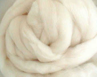 Blue Faced Leicester, BFL Top, Wool Top, By the Ounce, Premium Blue Faced Leicester, 1 ounce