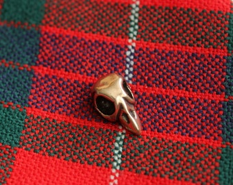 Bird Skull Tie Tack  Bird Skull Lapel Pin Bird Skull 005
