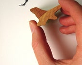 Wooden Handled Rubber Bird Stamp - jolyonyates