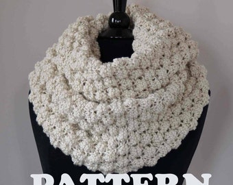 Snood Knitting Pattern Double Knit : Popular items for snood pattern on Etsy
