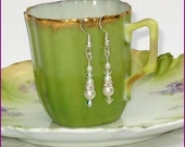 Suzette Pearl and Crystal Earring