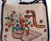 Enid Collins  vintage handbag... Collins of Texas