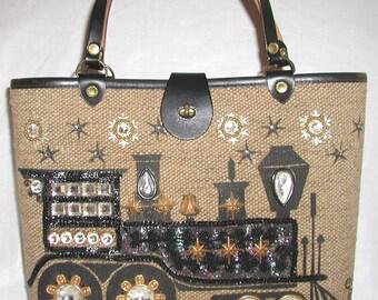 Enid Collins, Vintage Handbag,  ... Iron Horse .. 1964, Beautiful, Enid Collins Handbag
