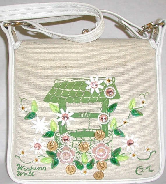 Enid Collins Vintage  Purse ...Wishing Well