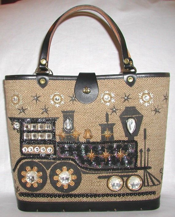Enid Collins, Vintage Handbag,  ... Iron Horse .. 1964, Beautiful