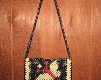 Vintage MOD Beaded Butterfly Purse made by PLAYBOY