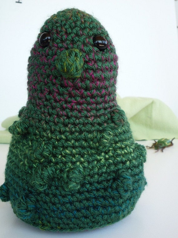 Bump In The Night - Hand Crocheted Stuffed Creature
