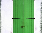 The Green Door - New Orleans Photography