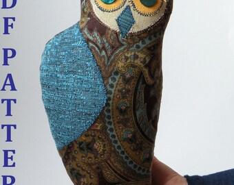 Wise Owl Sewing Pattern Tutorial PDF Digital Download