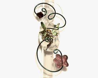 Fairy Window Vase  Gardener Gift Garden Decor Fantasy Suction Window Vase Bud Vase Hanging Vase3 Inch Dorm Room Decor